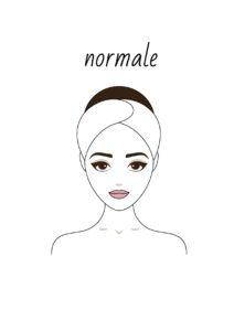 peau normale